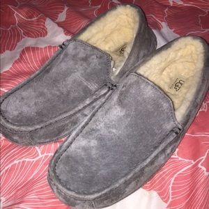 Ugg Ascot Mens slippers shoes size 11 Very Good